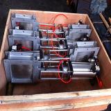Válvula de porta pneumática da faca do aço de carbono da porta do quadrado da operação