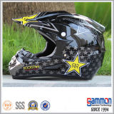 낙서 (CR402)를 가진 도로 헬멧 떨어져 점 Motorcross 또는