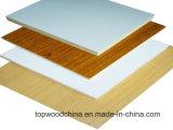 MDF impermeável do verde do painel de fibras da classe da mobília do MDF/da melamina