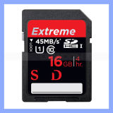 Professinal Camera Extreme Class 10 45MB/S 16GB Sd SDHC Card