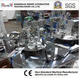 プラスチックハードウェアの一貫作業のための標準外自動機械