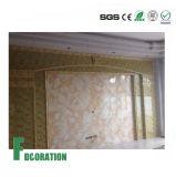 Panneau de mur de marbre de douche de surface de texture