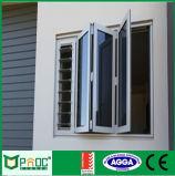 Окно алюминиевого профиля Bi-Fold при двойник застекленный для сбывания