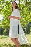 Пальто шкафута тельняшки самых последних женщин типа конструкции способа длинних верхних европейских безрукавный