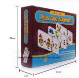 Rompecabezas Jigsaw de papel impreso de Educatonal/tarjetas de juego de papel educativas del rompecabezas
