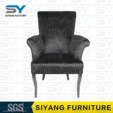 Silla de cena de cuero de la silla del fantasma de la silla de los apoyabrazos de China de los muebles del hotel