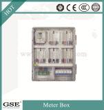 PC - caixa monofásica de dezesseis medidores de Z1601k (com a caixa de controle principal) (cartão)