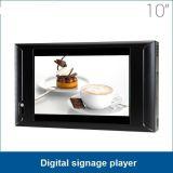 Caldo-Vendendo grado industriale schermi di visualizzazione dell'interno dell'affissione a cristalli liquidi di vendita di 10 pollici