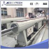 Máquina plástica de la protuberancia del tubo del PVC con la caja de engranajes vertical
