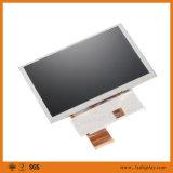 5 módulo 40pins/50pins de la pulgada 800*480 18 LED 500CD/m2 TFT LCD