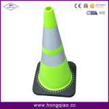 Pylône de sécurité routière de circulation de PVC