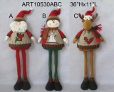 De Kerstman van de status, de Decoratie van Kerstmis van het Rendier van de Sneeuwman