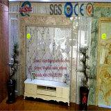 Gebruik van het Afval van de Lijn van de Uitdrijving van pvc van de Machine van de Uitdrijving van de Raad van de Lopende band van de Plaat van de Machine van de Raad van de Decoratie van pvc Het Kringloop Marmeren voor het Maken van Blad