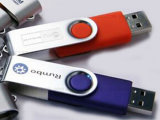 고속 전용량 회전대 USB 플래시 디스크