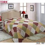 100%年の綿の高品質のベッドカバー