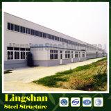 Gemakkelijk assembleer pre-Bouwt Structuur van Staal in China wordt gemaakt dat