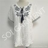 Рубашка вышивки типа повелительниц вскользь национальная (BL-226)