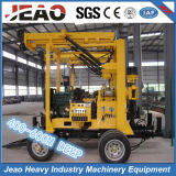 400-600m Deep Portable Wheels Water Well Drilling Rig für Sales