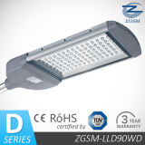 90W Bridgelux Chips LED Street Lights IP65&Ik08, Lm-79