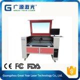 Cortadora colocada cámara automática caliente del laser de la marca registrada de la venta