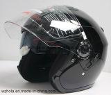 PUNTO Apprived, casco abierto del ECE del adulto de la motocicleta de Casco de la cara