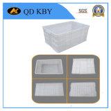 La plastica inietta il contenitore in vari formati e colori per la linea di produzione della fabbrica, magazzino, trasporto