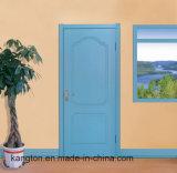 Древесина отлила нутряную конструкцию в форму двери Veneer HDF (дверь veneer)