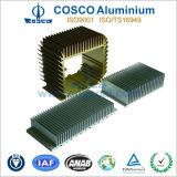 Perfil de alumínio do OEM Precison para o dissipador de calor com anodização