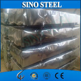El material para techos de aluminio del cinc cubre la hoja de metal acanalada del material para techos