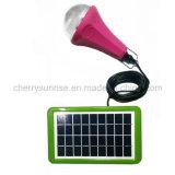 Sistema de energia solar da fora-Grade recarregável da iluminação Emergency 3W para HOME pequenas