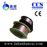 Aws Solid MIG Copper Alloy CO2 Gas Shield Welding Wire Er70s-6 avec CCS, Ce, Certification ISO