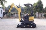 Estrutura de borracha de Tracks&Retractable para máquina escavadora da esteira rolante do Backhoe de CT16-9d (1.8t) a mini