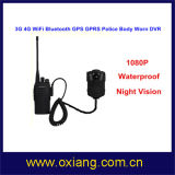 video portato corpo DVR 3G 4G WiFi della polizia di 16MP 1080P