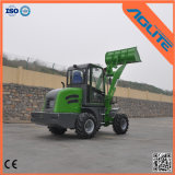Il piccolo caricatore della rotella della Cina, il caricatore della parte frontale di tonnellata 1-2, Ce ha approvato il caricatore articolato