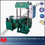 Imprensa Vulcanizing de borracha de quatro colunas/telha de assoalho de borracha que faz a máquina
