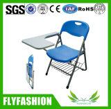 Silla de formación de muebles de aula con almohadilla de escritura (SF-38F)