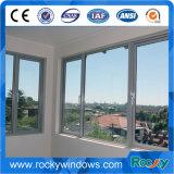 Vitrage en aluminium Windows coulissant de bonne qualité double