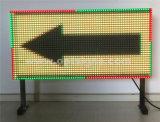 屋外の電子Vms二重味方されたLED可変的なメッセージの印、LEDのトラフィックの表示板