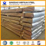 Galvanizado cubriendo la hoja de acero con calidad confiable