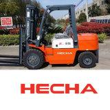 Carretilla elevadora diesel de la tonelada aprobada de Hecha Forklift3.5 del Ce en venta