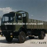 Benz Beiben van het noorden Al Terrein van Vrachtwagen van de Lading van de Vrachtwagen van de Weg 4X4 de Militaire
