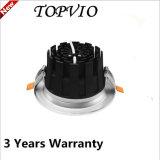 Alto Lumen 10W / 20W / 30W Empotrable Rectangular Techo COB LED Downlight