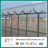 용접된 Matal Airport Fence 또는 최신 Dipped Galvanized Welded Wire Mesh Airport Fence