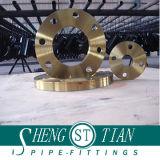 Ajustage de précision de pipe d'acier de brides borgnes