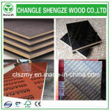 1220*2440 imprimió la madera contrachapada hecha frente película de la insignia