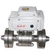 Robinet à tournant sphérique à haute pression électrique (HL-10)