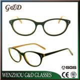 Het populaire In het groot Frame Sr6066 van de Glazen van het Oogglas van Eyewear van de Acetaat van de Voorraad Optische