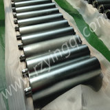 Korn Transportation Conveyor Impact Roller mit Moulded Cooked oder mit Impact Rubber Disc Roller Idler Roll Rubber Rings Weigh Idler Roll Roller