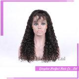 Парики шнурка реального индийского парика волос полные с волосами младенца