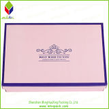 Blume Printing Paper Packing Box für Storaging Shoe